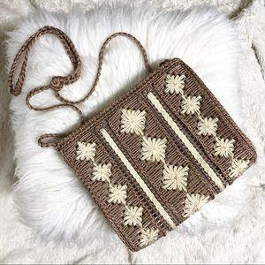 Handbags - Woven Shoulder Bag